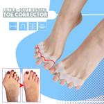 Ultra-Soft Rubber Toe Corrector