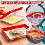 Space Saving Food Keeper Tray