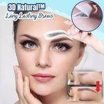 3D Natural Long Lasting Brows Sticker 6 Months Set