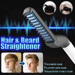 Hair Beard Heated Straightening Brush