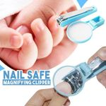 Nail Safe Magnifying Clipper