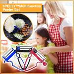 3 peely Multifunction Peeler Set-3pcs