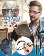 Pen Type Folding Glasses