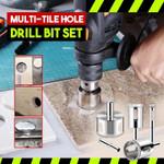 Multi-Tile Hole Drill Bit Set