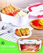 Self-Heating Lunch Box