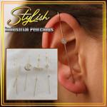 Stylish Industrial Piercings