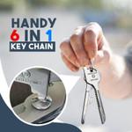 Handy 6 in 1 Key Chain