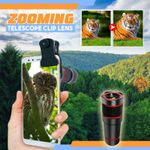 Zooming Telescope Clip Lens