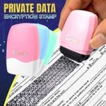Private Data Encryption Stamp