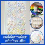 Rainbow Glass Window Film
