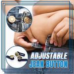 Adjustable Jeans Button