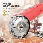 Powerful Wood Grinder Disc