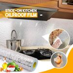 Stick-On Kitchen Oilproof Film