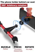 360° Car Headrest Phone Holder