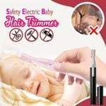 Safety Electric Baby Hair Trimmer