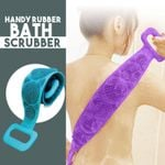 Handy Rubber Bath Scrubber