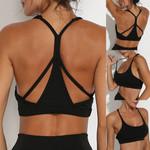 Mesh Breathable Yoga Bra Tops Fitness