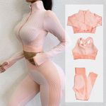 Fitness Suits Yoga Outfits 3pcs Sets