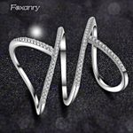 Sterling Silver Sparkling Single Rings