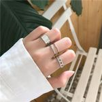 Trendy Style Ring Hollow Open Three-piece Set