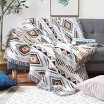 Bohemian Knitted Chair Lounge Blanket