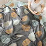 Layer Cotton Gauze Travel Blanket Throw Sofa