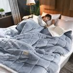fleece blankets and throws Thick Warm Home