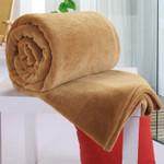 Soft Warm Coral Fleece Blanket Sheet Bedspread Sofa