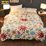 coral fleece blanket soft warm bedspread