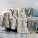Bohemia Pure Cotton Sofa Cover Blanket