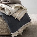 Throw Blankets Towel Quilt Knitted Thread Blanket