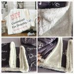 Flannel Plush Personalized Blankets