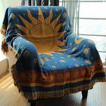 Thicken Pure Cotton Thread Knitted Blanket