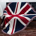 Sofa Blanket Cotton Fabric Flag Design