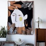 Tassel Blankets Tapestry Sofa Cover Bohemian