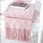 Couch Cover Decorative Knitted Blanket