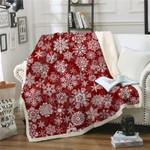 Sherpa Fleece Soft Warm Winter Red Blankets