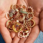 Trendy Pearl Clip on Earrings Earcuffs