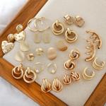 Fashion Metal Statement Earrings