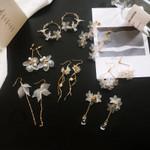 flower handmade bohemia boho earrings