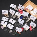 Tassel Acrylic Bohemian Earrings Set