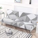 Universal Fold Armless Sofa Bed Cover Folding seat