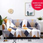 Stretch Plaid Sofa Slipcover Elastic Sofa Covers