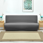Universal Armless Sofa Bed Cover Folding Modern seat