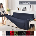 solid color corner sofa covers for living room elastic spandex slipcovers