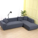 Velvet Sofa Covers for Living Room Solid Sectional Sofa Cover