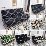 geometric folding sofa bed cover sofa covers spandex