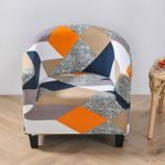 Chair Slipcover Stretch Armchair Covers Printed