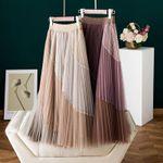Mesh Skirts Pleated Skirt Empire Skirt Bohemia Skirts