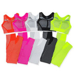 Strip Seamless Yoga Set for Fitness Sports Suits Gym